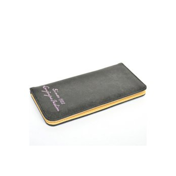 OEM Dompet Wanita PU Leather Wallet Slim For Girl Women - Hitam