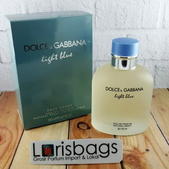 Dolce And Gabbana Light Blue Eau De Toilette Parfum Original Singapore Perfume Ori