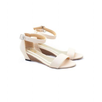 AliveLoveArts Boci Cream Wedges