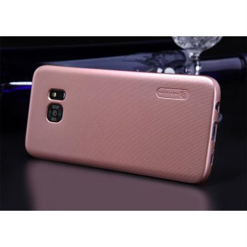 Nillkin Super Frosted Shield Hard Case for Samsung Galaxy S7 - rose gold
