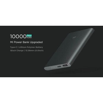 Xiaomi Powerbank 10000mAh Pro 10000 Slim Type C USB Fast Charging