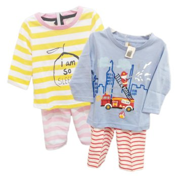 Piyama Anak BOY AND GIRL - 1Y-3Y - BAHAN KATUN