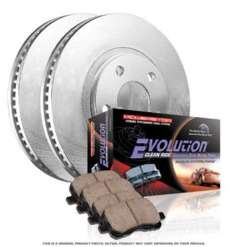 [macyskorea] Power Stop Autospecialty KOE1719 1-Click OE Replacement Brake Kit/12375481