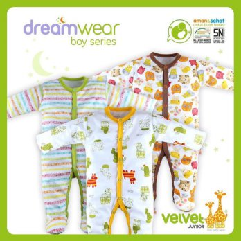 Sleep Suit Velvet 0 - 9 bln