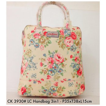 Tas Wanita Ransel Fashion Backpack Handbag 3 in 1 3930 - 6