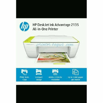 (Termurah) Printer all-in-one HP deskjet ink advantage 2135 garansi resmi
