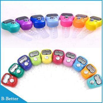 Tasbih Digital Mini Finger Counter -1pcs - Random