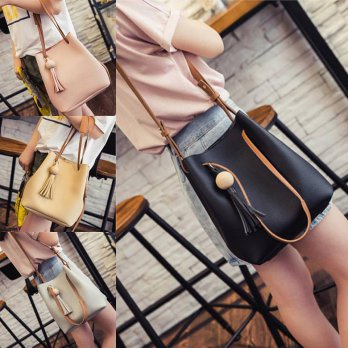 Tas import GL363 Ready Black,Grey,Khaki,Pink