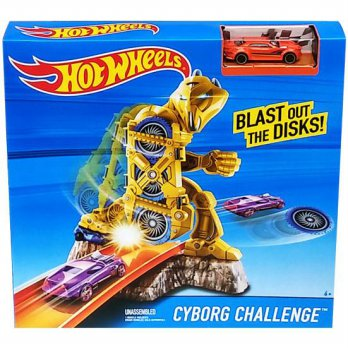 HOT WHEELS TRACK CYBORG