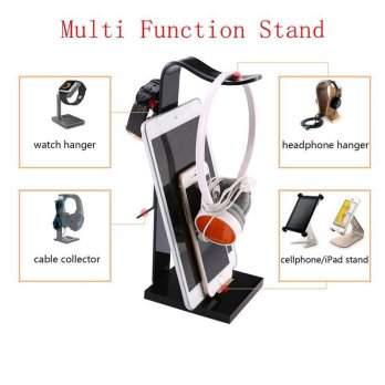 Murah Headphone Headset Handphone Cable Stand Holder