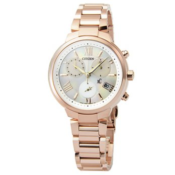 Star XC] [CITIZEN Eco-Drive Titanium sapphire crystal quartz watch - rose gold / FB1332-50A