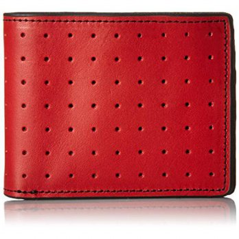 [macyskorea] J. Fold J.Fold Mens Loungemaster Slimfold Wallet, Red/Brown, One Size/12352774