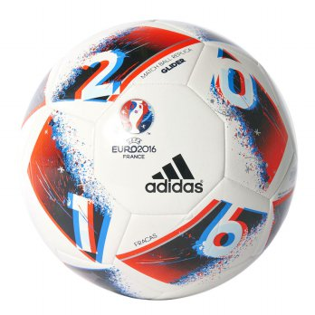 Adidas Bola Football Sepakbola EURO16 MATCH BALL REPLICA GLIDER Original AO4843