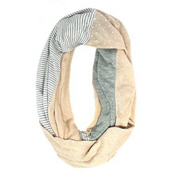 [macyskorea] Collection XIIX Womens Patched Jersey Infinity Loop Scarf, Cosmic Dust/12352723