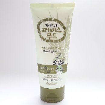 Seed & Farm Natural Whip Cleansing Foam 150g Buckwheat Green - Sabun Cuci Muka