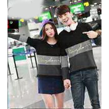 Hoodie Couple / Sweater Baju Pasangan Wisdom Combi 2