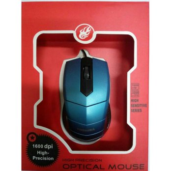 TOSHIBA Optical Mouse B300 - High Sensitive Series