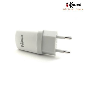 buy 1 get 1 Ikawai Batok Kepala Charger 1A single Port free cabel micro 100 cm