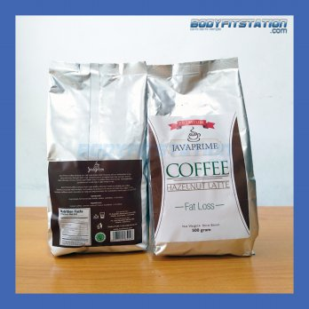 Java Prime Coffee 500 Grams 1 Bag 20 Servings / carnitine diet g gr gram hazelnut javaprime kopi l latte l-carnitine serv serve serving