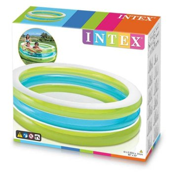 Kolam Renang Intex Center See-Through Round Pool