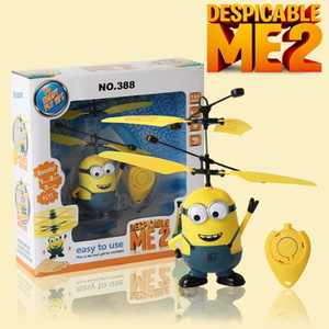 Flying Minion terbang sensor doll boneka