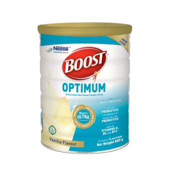 Nestle Boost Optimum Rasa Vanilla 800 gram