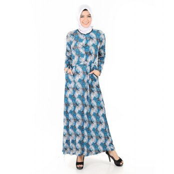 Long Dress Gamis Fashion Muslim Terbaru 2018 - Penelope
