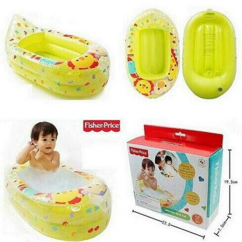 Bak mandi tiup fisher price / fisher price inflatable t