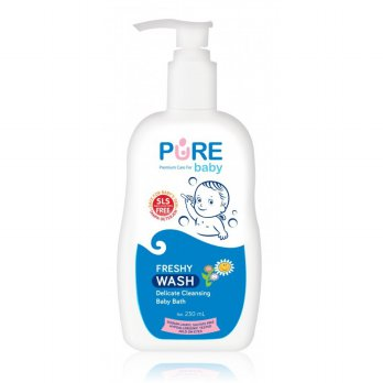 Pure Baby Wash Sabun Mandi Bayi Freshy 230ml