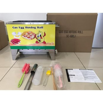 Sostel Sosis Telur Egg Sausage Hot Dog Roll Baker GAS