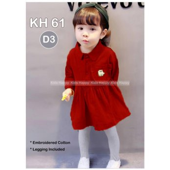 Dress Anak Kids Happy - KH61 D3