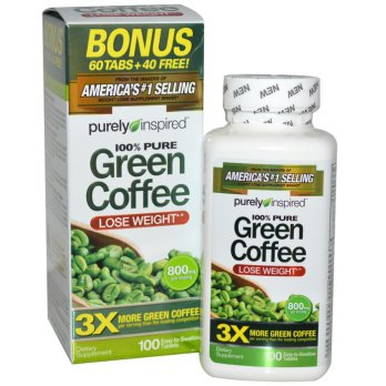 GREEN COFFEE PURELY INSPIRED NO 1 di AMERIKA