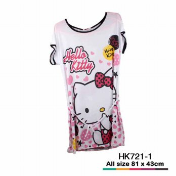 Baju Hello Kitty 1381 Putih HK721-1