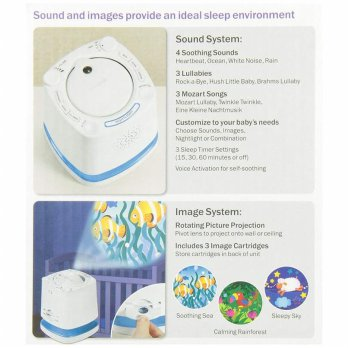 Munchkin projector sound music baby night 3 in 1 sale