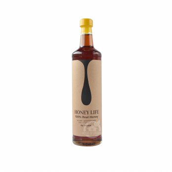 Honey Life Raw Wild Forest Honey - 640 Ml