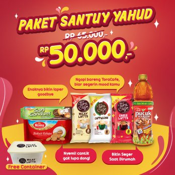 Paket Santuy Yahud Free Container