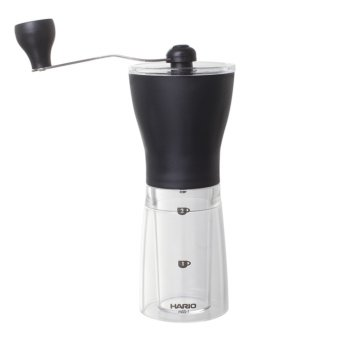 Hario Mini Mill Slim Plastic Coffee Grinder MSS-1 B