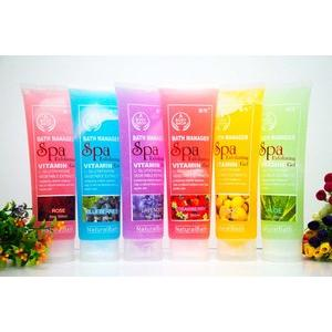 SPA BODYSHOP PEELING GEL / BODYSPA BODY SPA EXFOLIATING GEL PERONTOK SEL KULIT MATI