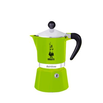 Bialetti Rainbow Green 3 Cups