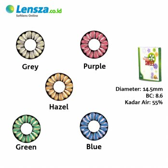 [Luxury Softlens] Omega Vanilla Sweet Softlens Warna