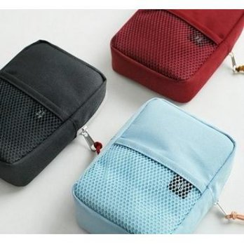 NEW NORMAL ESSENTIALS Digital Pouch Organizer / Tempat HP, Charger, Headset