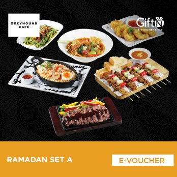Greyhound Cafe Ramadhan Set A