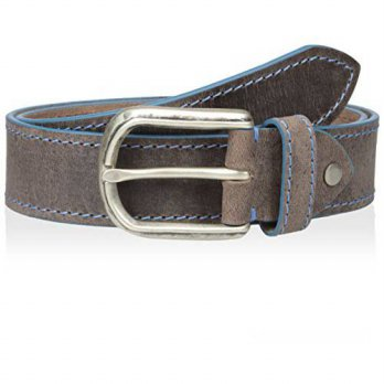[Macyskorea] Bolliver Mens Distressed And Faded With Contrast Edge And Stitch Belt, Taupe 11404032