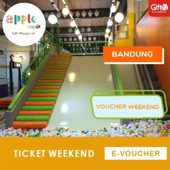 Apple Bee - kids Playground PVJ BANDUNG Weekend