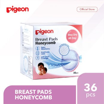 PIGEON Breast Pads Honeycomb Isi 36 Pcs