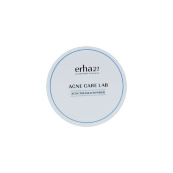 erha21 Acne Care Lab Pressed Powder 13g - Bedak Kulit Jerawat