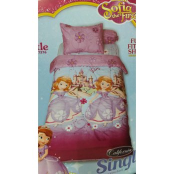California Sofia Castle sprei 120x200