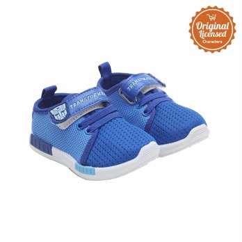 Transformers Baby Boy Sport Canvas Shoes Blue