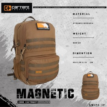 Ransel Cartenz Tactical Magnetic CAF 70647