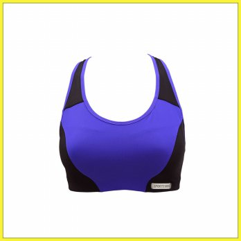 BRA - Luludi Steady Up Sports Bra - IB 2033 - Purple M  (IB 2033 MO M)